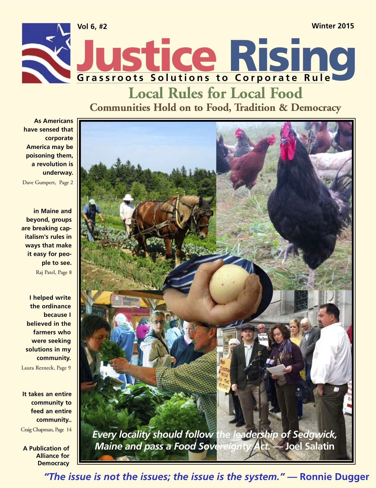 cover of Justice Rising